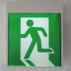 避難口誘導灯