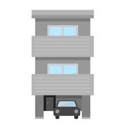 3階部分の民泊施設